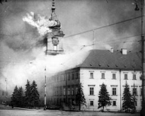 zamek królewski we wrześniu 1939