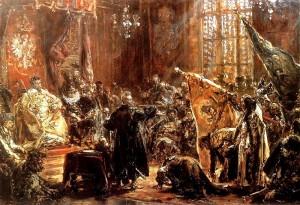 Carowie_Szujscy_na_sejmie_warszawskim_Jan_Matejko_18_century