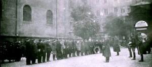 Lwów Uroczystość wręczenia odznaczeń weteranom powstania styczniowego (1923)a