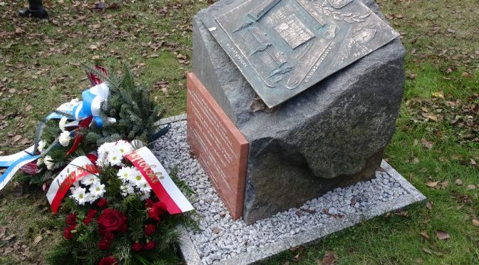 Odsłonięcie obelisku ku czci Legionu Czechów i Słowaków w Krakowie